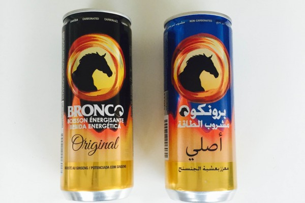 BRONCO Energy Drink Powered With Ginseng