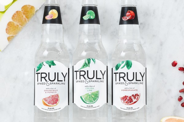 Introducing Truly Spiked & Sparkling Water