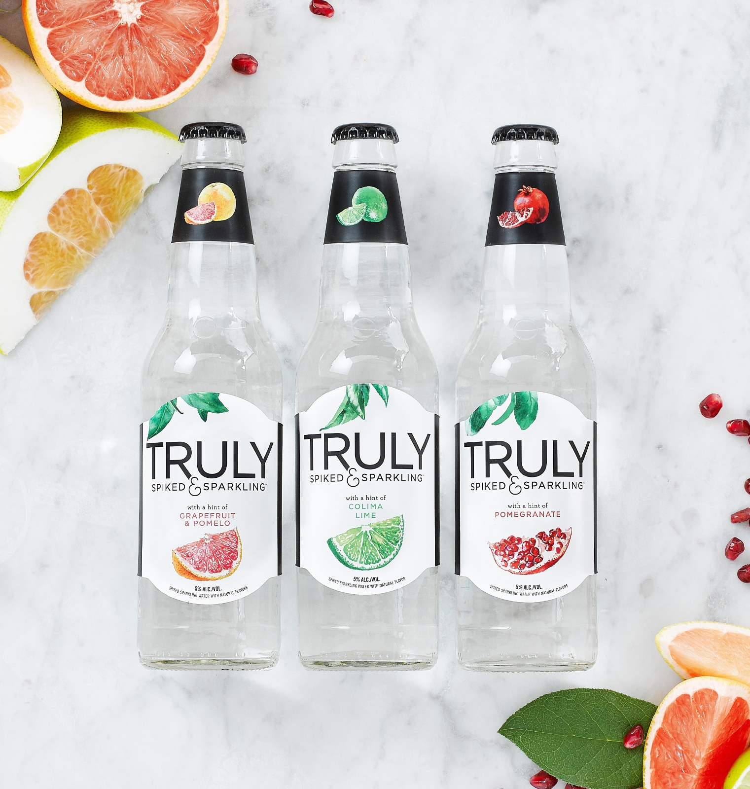 Introducing Truly Spiked Amp Sparkling Water