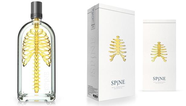 Vodka packaging design