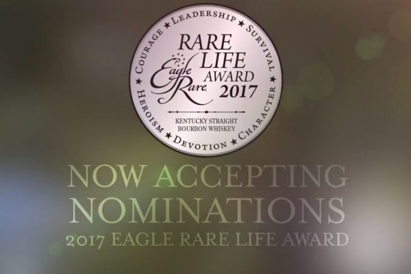 Eagle Rare Bourbon Launches 2017 Rare Life Award