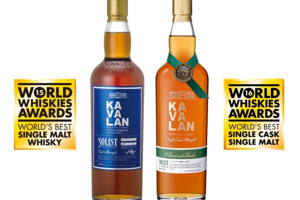 Kavalan Celebrates World's Best Whisky Awards