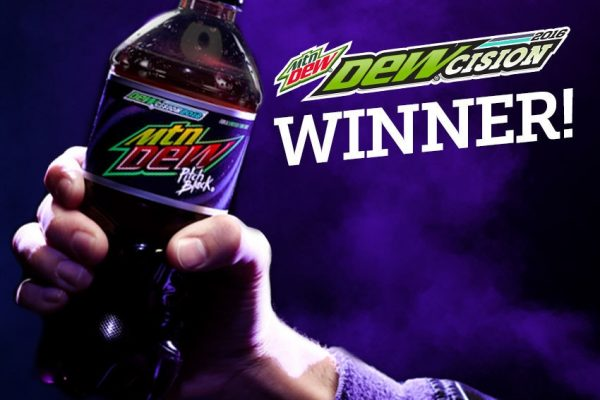 DEW® Nation Has Spoken: PITCH BLACK Voted Winner In DEWcision 2016