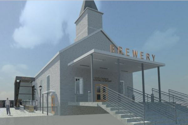 "World's First Beer Church ""Brewhouse Louvre"""