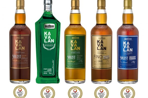 Kavalan Shines at International Wine and Spirits Competition