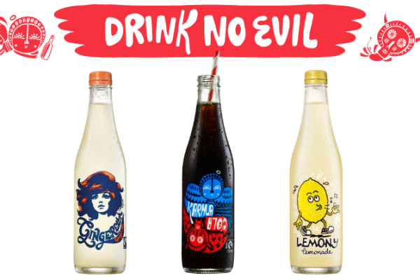 Drink No Evil With Karma Cola