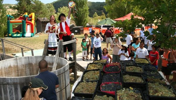 The 20th Annual Julian Grape Stomp Festa