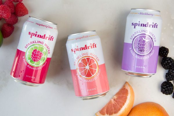 America's First Sparkling Beverage Made With Squeezed Fruit