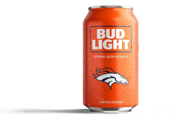 Bud Light Beer Toasts Broncos Fans With Beer Giveaway