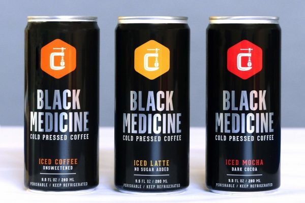 Black Medicine Cold Pressed Coffee Switches To Can Package