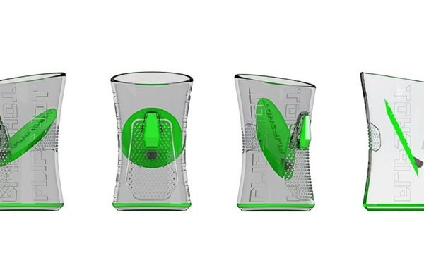 Innovativa Shot Glass Which Eliminates The Burn