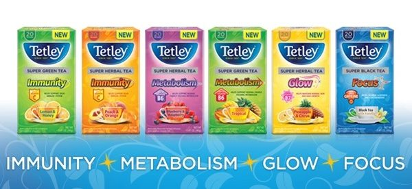 Tetley USA Launches New Line of Super Teas