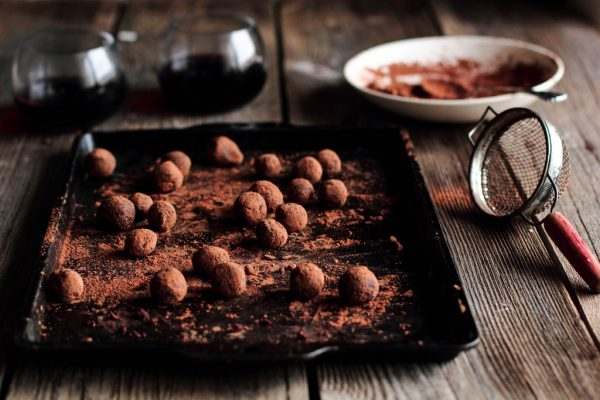 Pairing tips from Santa Barbara Chocolate For Wine Lovers