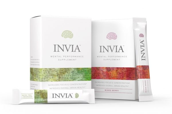 New INVIA Mental Performance Drink Mix Supplement Reaches Market