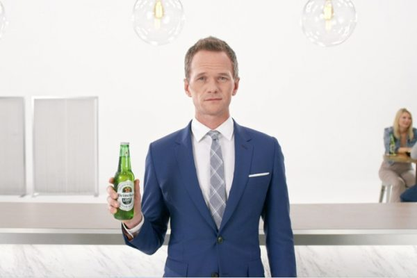 Neil Patrick Harris in First Heineken Light Commercial of 2017