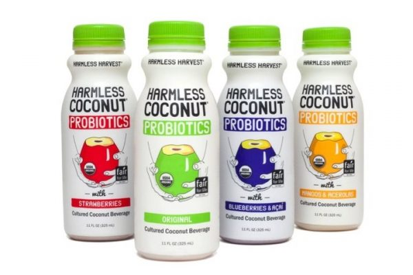 Harmless Harvest Launches New Line Of Probiotic Beverages