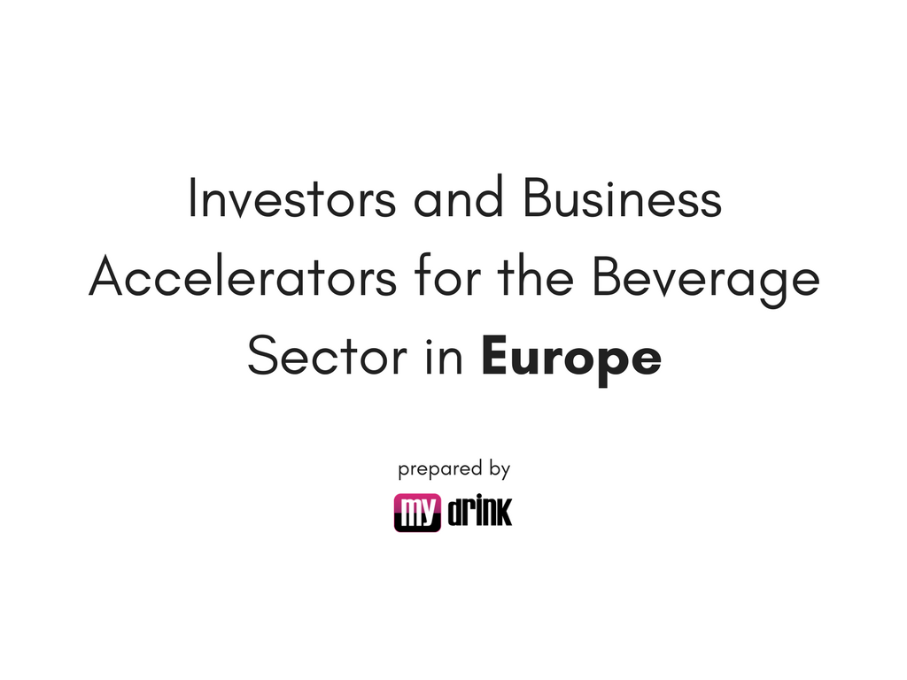 Investors and Business Accelerators for the Beverage ...