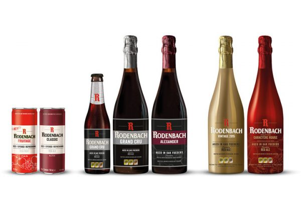 Rodenbach Brewery Presents New Packaging for its Iconic Beers