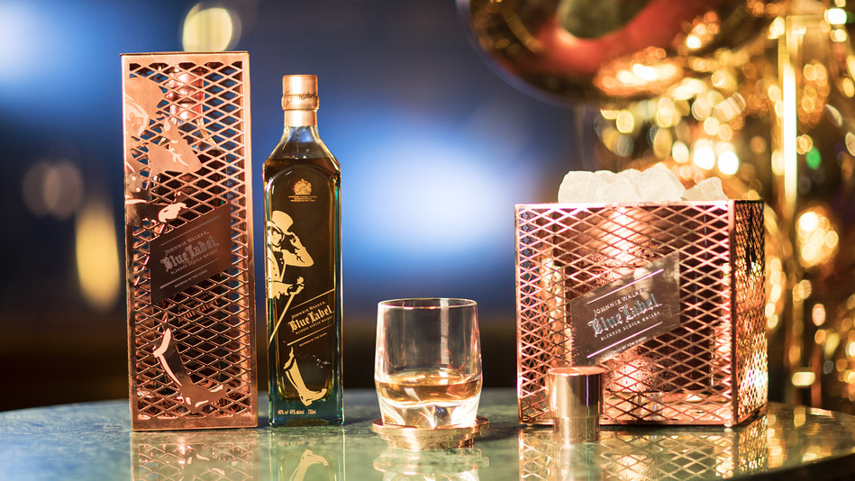 Acclaimed British designer Tom Dixon OBE has created The Johnnie Walker Blue Label Capsule Series, which will be previewed at the elegant Teatro Manzoni theatre as part of Dixon's exhibition at Milan Design Week this week.