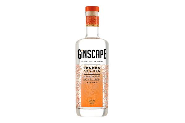 Croxsons Produce Stylish New Bottle for Ginscape