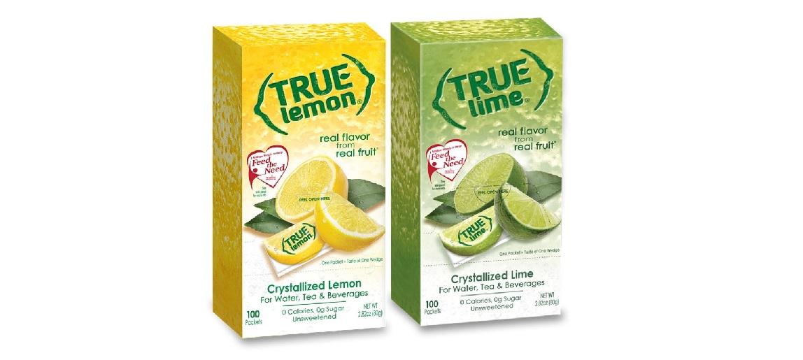 True Citrus and Diamond Crystal Announces Partnership