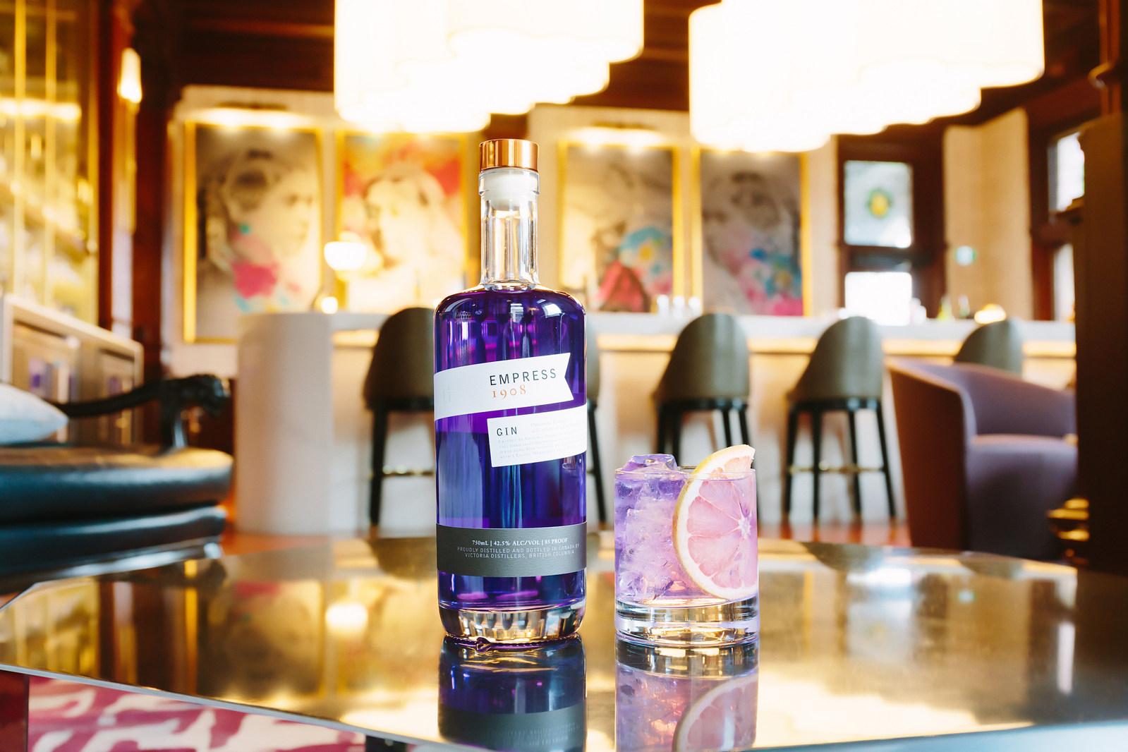 Victoria Distillers Debuts Newest Release, Empress 1908 Gin