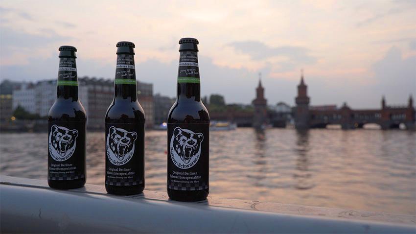 Berliner Schwarze Dark Beer With Ginseng & Maca