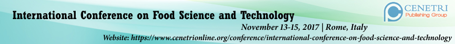 International Conference on Food Science and Technology