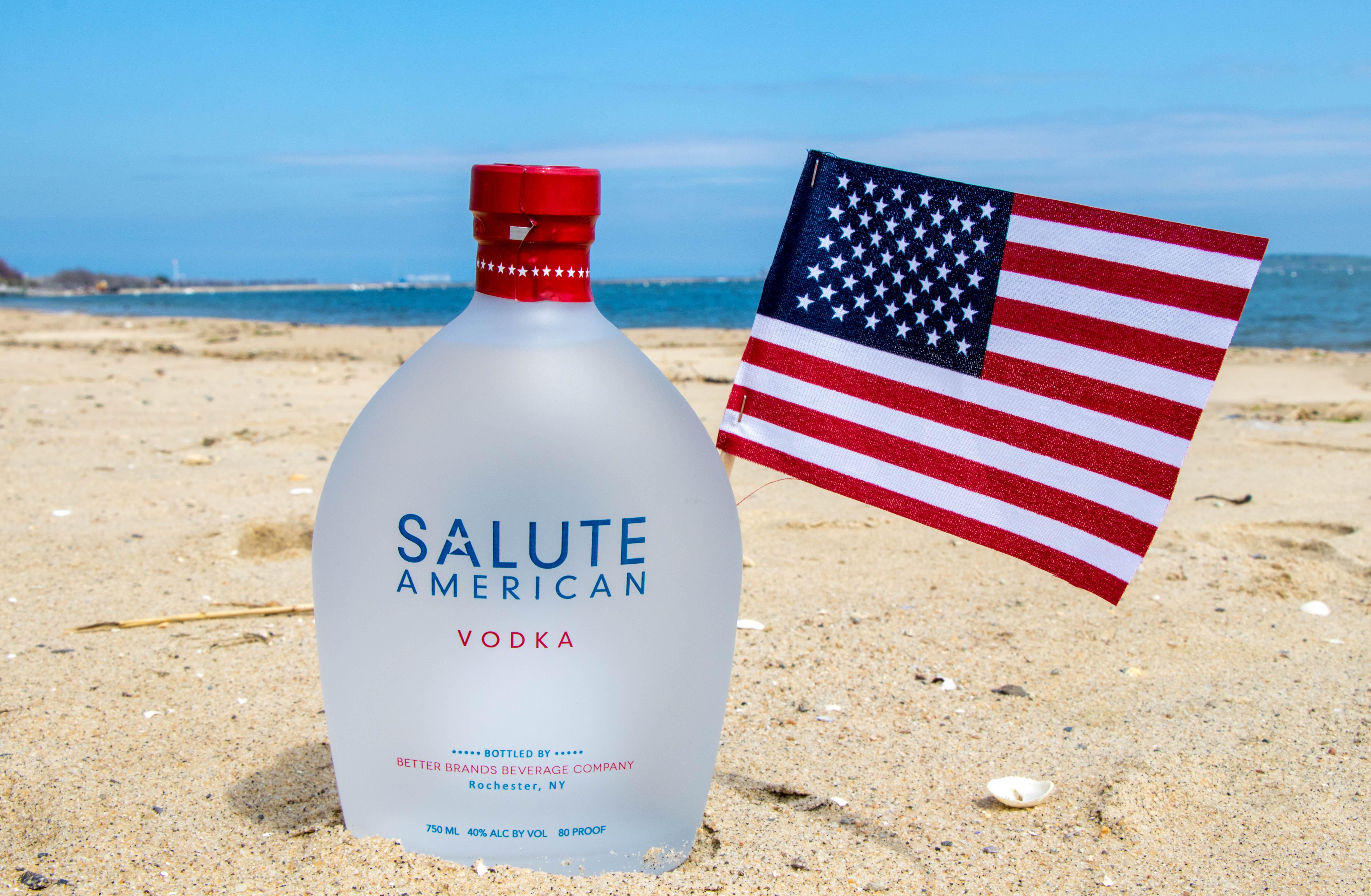 Salute American Vodka - Spirit with Soul