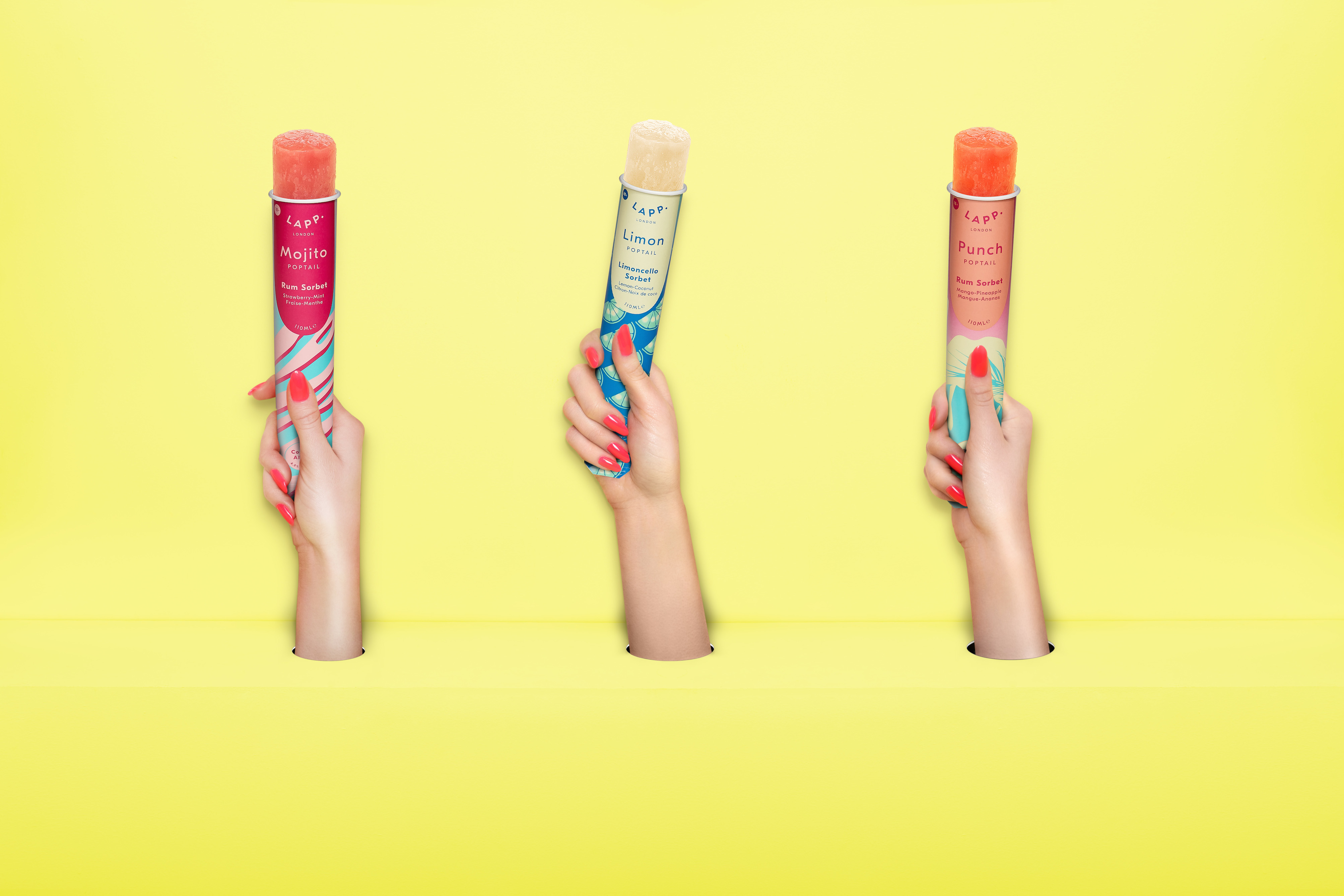 Poptails By Lapp Launch Trio Of Gourmet Alcoholic Sorbet Lollies