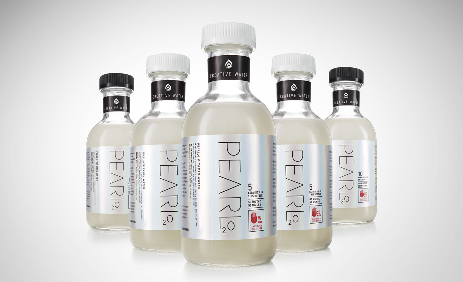 Pearl2O, the World's First and Only Cannabis-Infused Water