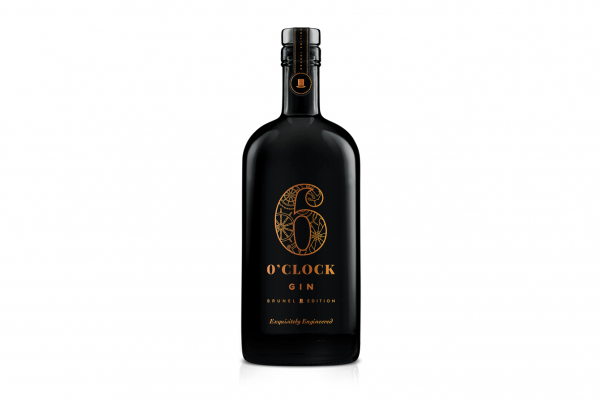 Croxsons' Stunning Black Bottle for 6 O'Clock Gin's Limited Edition