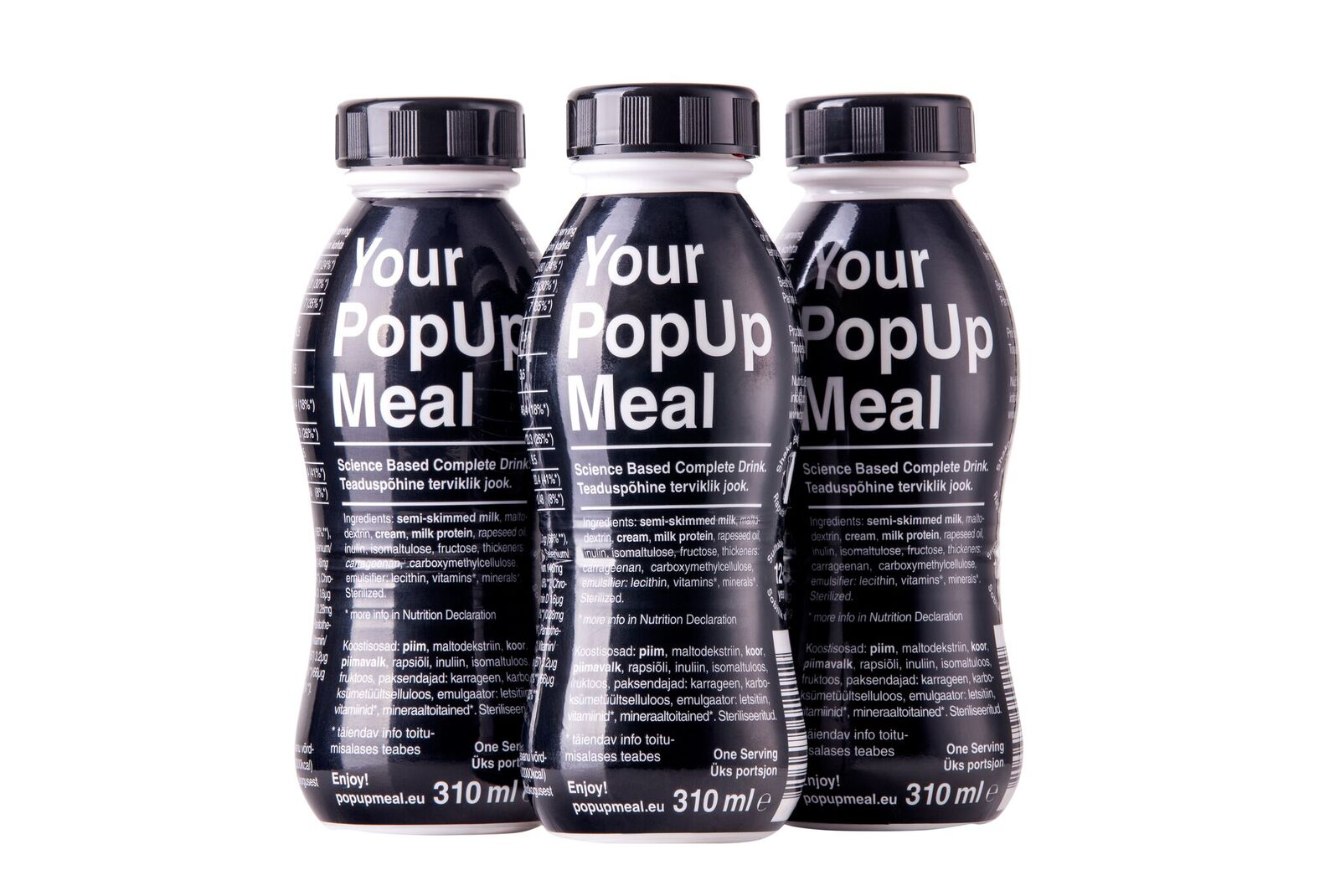 Pop Up Meal – A Smart Ready-To-Drink Meal