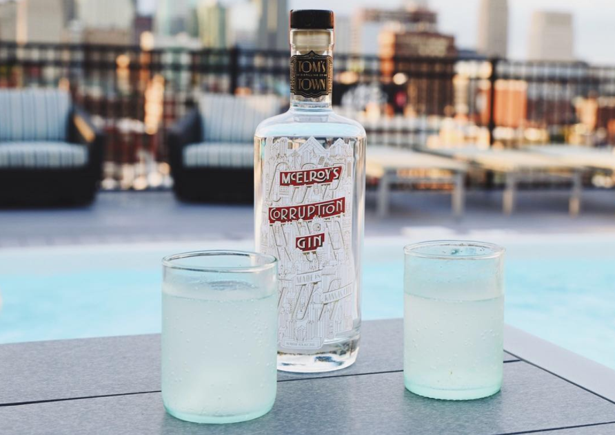 Tom's Town Corruption Gin Named One of Fifty Best Gins in US