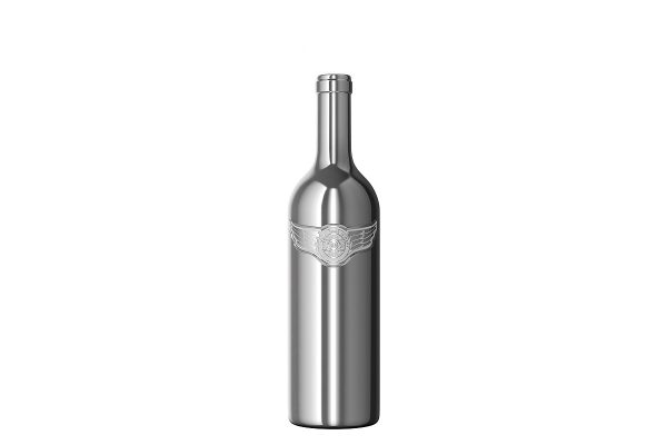 World's First Chromed-Glass Wine Bottle