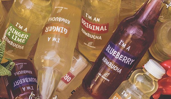 4 Delicious Flavors of Organic Love Kombucha