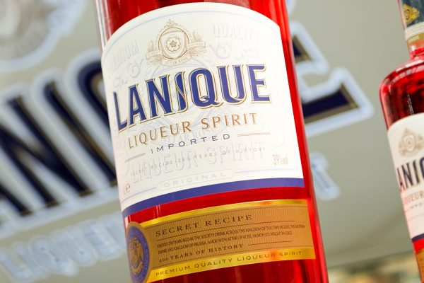 The Label Makers Partnerships With Lanique Liqueur Spirit