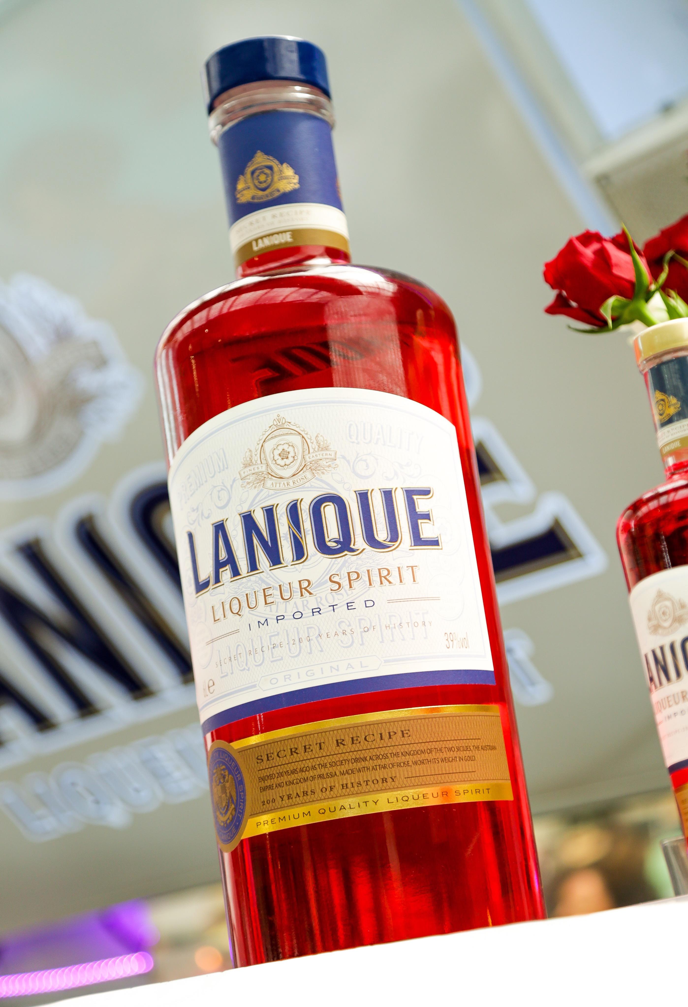 The Label Makers Partnerships With Lanique Liqueur Spirit