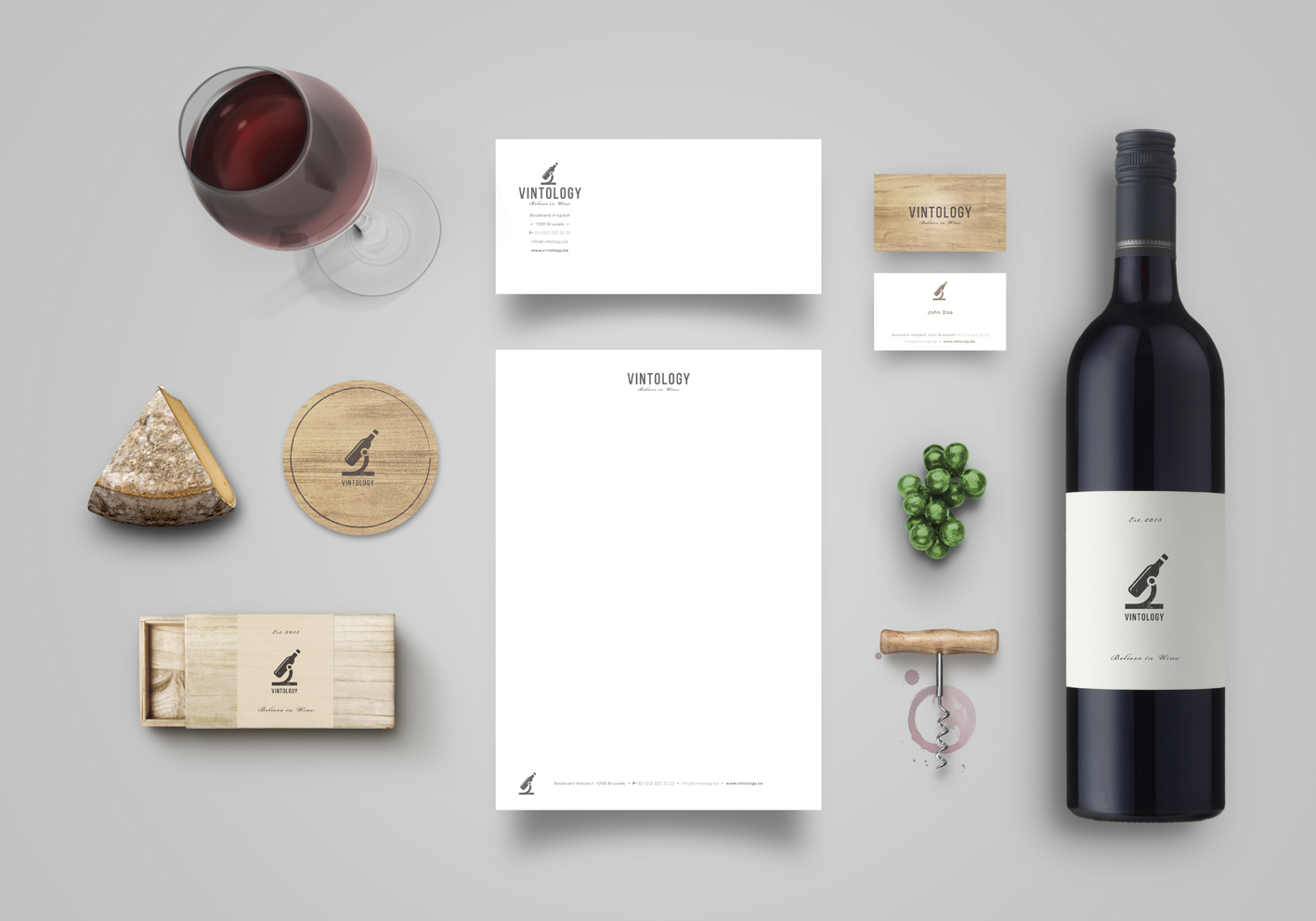 Brand identity pack by emretoksan for Vintology