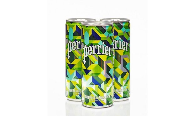 Perrier Launches New Limited-Edition Packaging