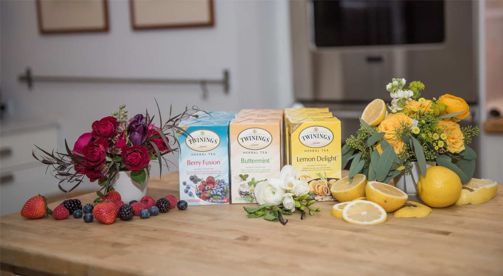 Twinings Releases New Herbal Tea Blends In US