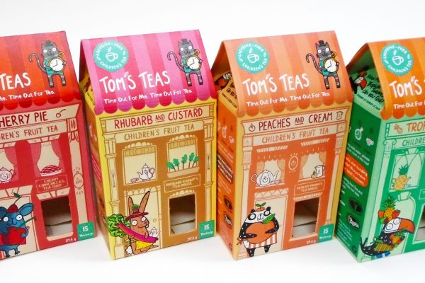 Packaging Solution for Children's Fruit Tea Start-up