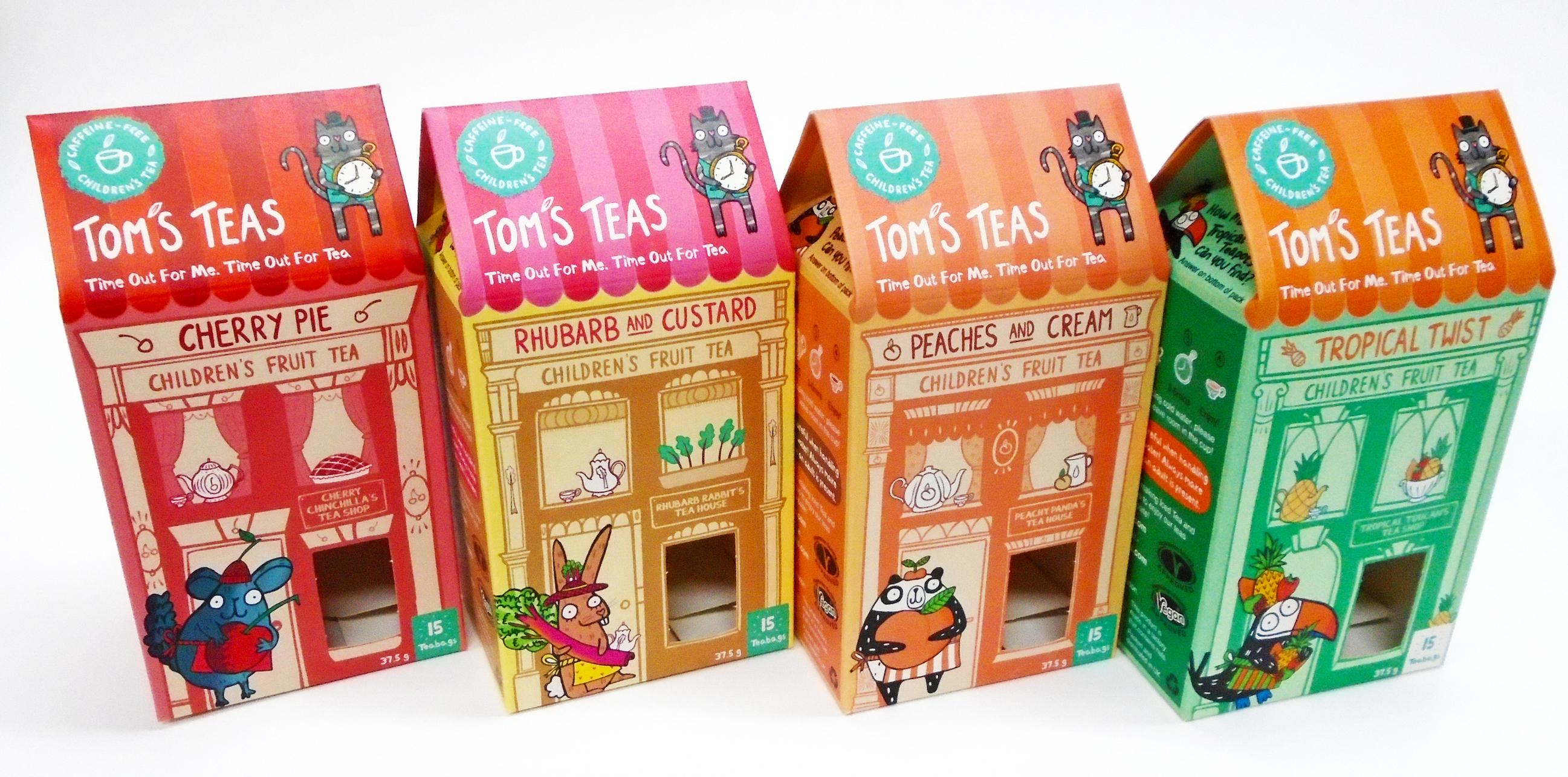 Packaging Solution for Children's Fruit Tea Start-up