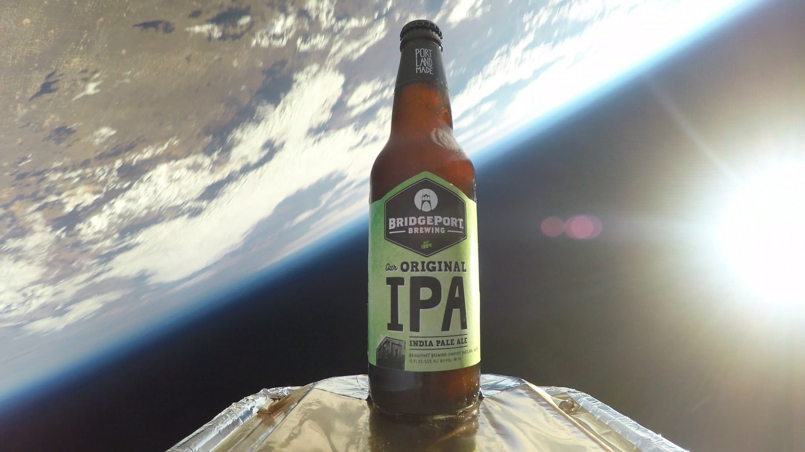 BridgePort Launches The First Craft Brew Into Space