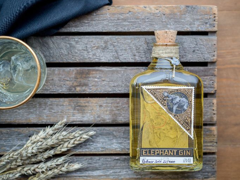 Elephant Gin Launch Limited Edition Oak Aged Gin