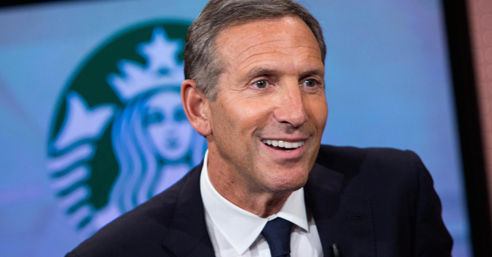 John Kerry and Howard Schultz at the 4th edition of Seeds&Chips