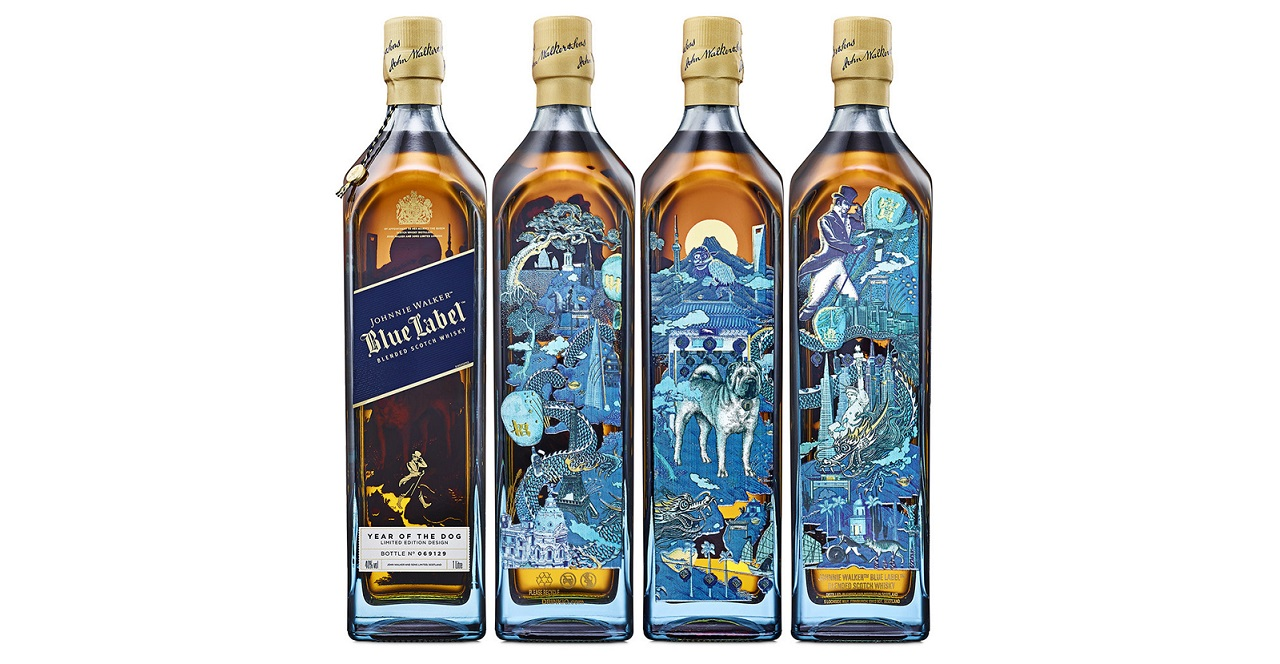 Johnnie Walker Blue Label Presents New Limited Edition