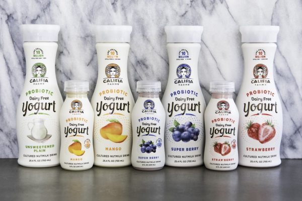 New Line of Dairy-Free, Probiotic-Powered Yogurt Drinks