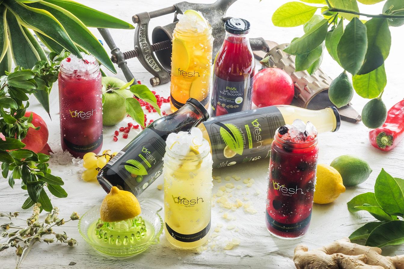 bfresh spitiko - The handmade refreshment born in Greece