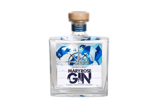 New Double-Sided Back Label For Mary Rose Gin